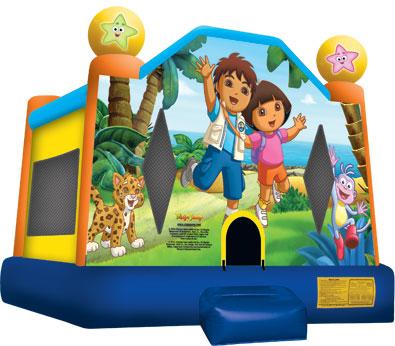 Dora & Diego Jump